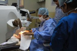 operation in delhi eye centre