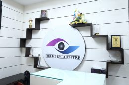 Delhi eye centre reception