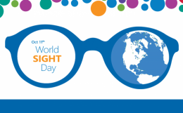 World Sight Day Thursday, 11 October - The most important advocacy and communications event on the eye health calendar. It is a great time to engage with the world around us – a patient's family, those who seldom get an eye exam, #diabetics. This year, let us draw attention to eye care issues so that everyone, everywhere has access to good eye health. Plan for an eye examination. Look around in your family, especially for those who are vulnerable: young, school-going children, the elderly, those with diabetes.