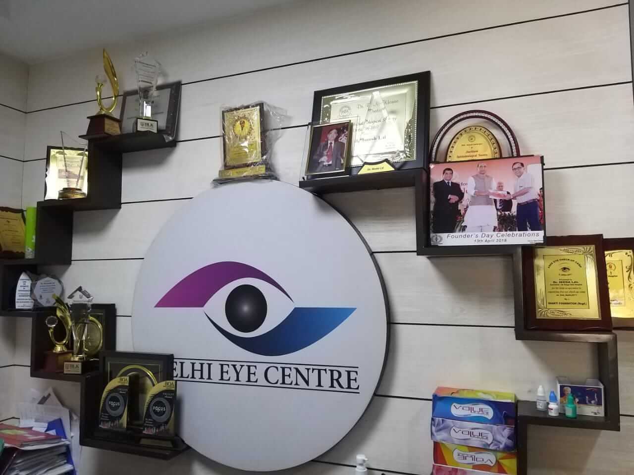 awarded eye surgeon