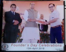 award with raj nath singh
