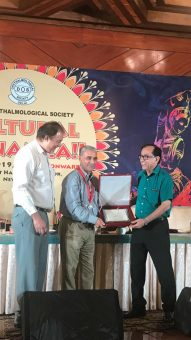 awarded for best Ophthalmological Society
