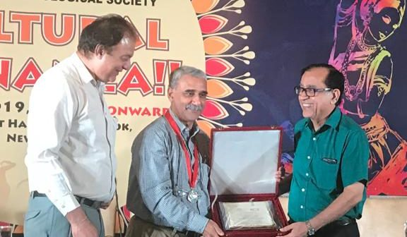 Dr Harbansh Lal Awarded GBM of Delhi Ophthalmological Society