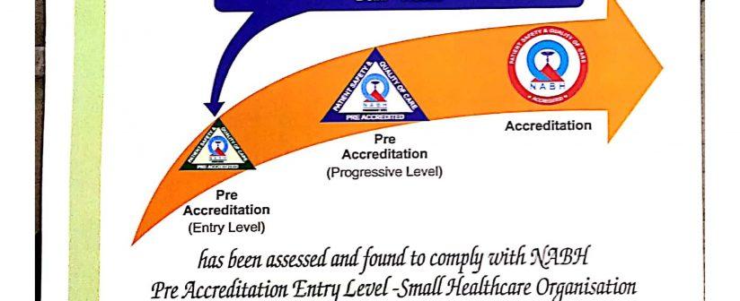NABH Certificate – Delhi Eye Centre