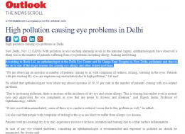out look delhi eye centre news