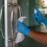 sanitise premises regularly